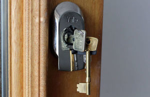 Photo of keys in the door Photograph: Paul Clabburn, All rights reserved