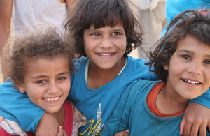 Child refugees in Jordan.  Picture: UNICEF