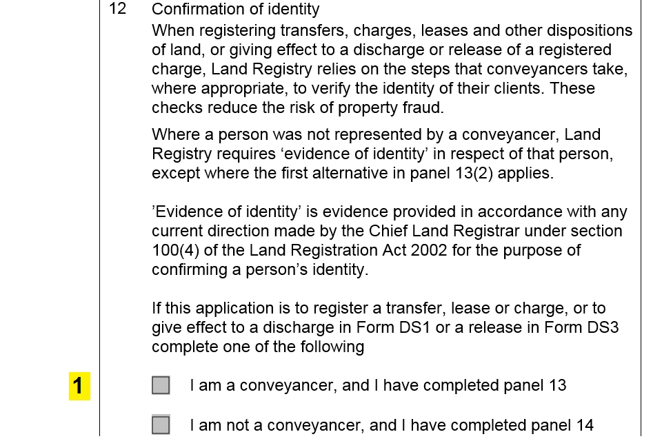 Practice guide 67 evidence of identity conveyancers GOV UK