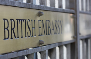 British Embassy in Rome