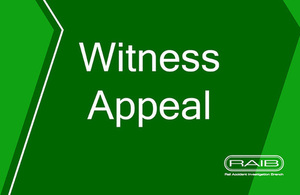 RAIB witness appeal Notting Hill Gate