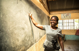 UK aid is supporting teachers like Risper Opiyo to reach the most marginalised children. Picture: Anna Dubuis/DFID