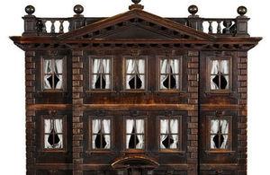 A rare early Georgian baby house.