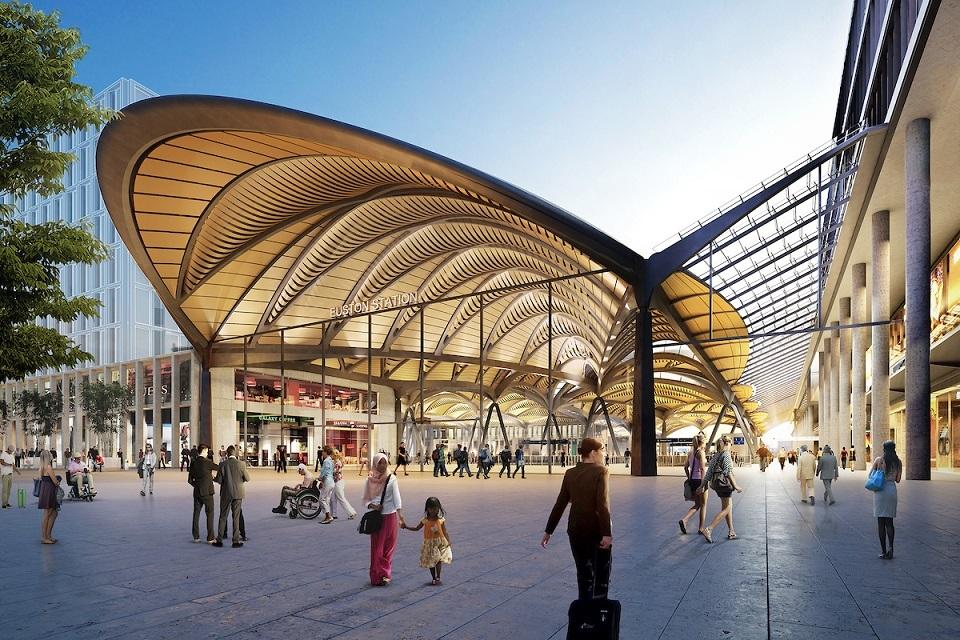 Hs2 Reveals World Leading Design Firms For Biggest Station