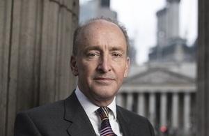 Head shot of Lord Mayor Bowman