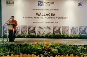 NERC and Ristekdikti convene around 40 researchers from UK and Indonesia to explore ideas for joint research collaboration at a workshop in Makassar, 6-8 February.