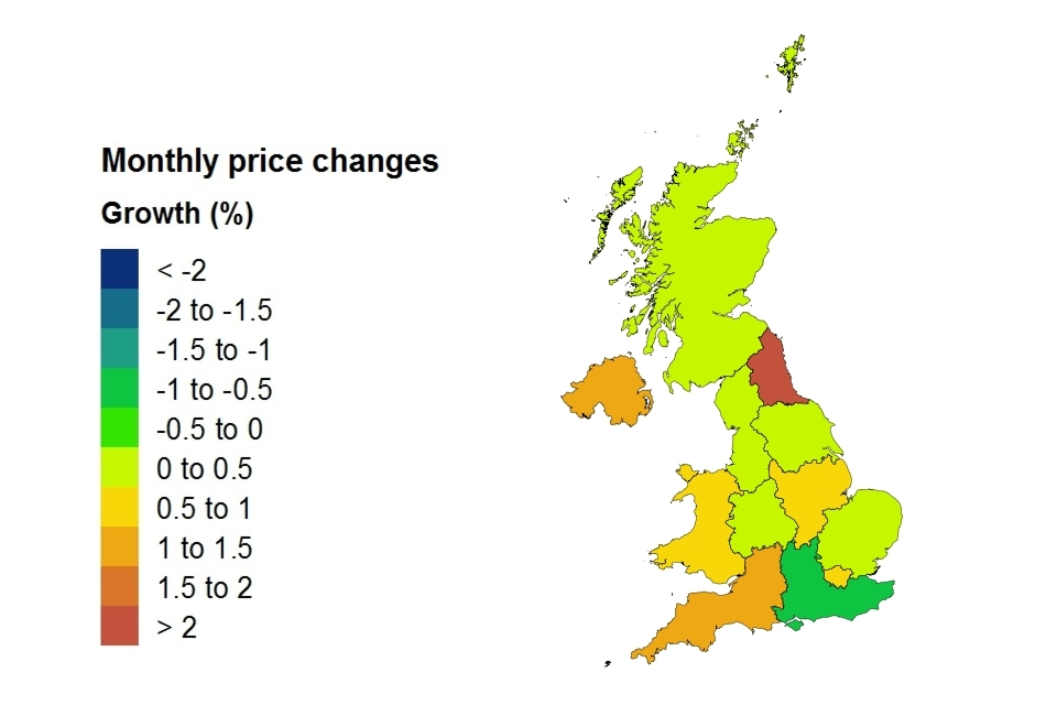 Uk House Price Index For December 2017 Govuk