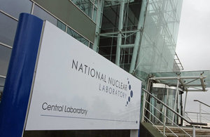 Sellafield Ltd signed with the National Nuclear Laboratory.