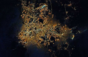 Malaysia pictured from space. Credit: ESA.