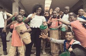2018 Cameroon Points of Light Winner Noela Lyonga