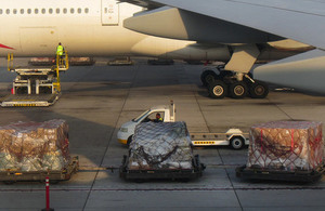 Cargo at airport
