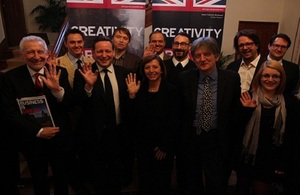 Minister Vaizey and Creative Industry Delegation to Korea