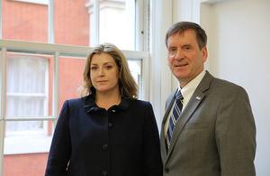 DFID Penny Mordaunt USAID Mark Green