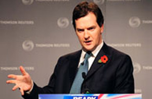 The Chancellor of the Exchequer, Rt Hon George Osborne MP