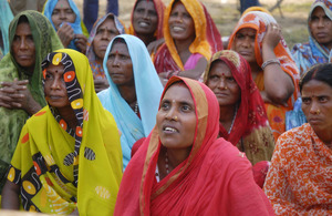 A group of women. Picture: Malcolm Hood/DFID Nepal