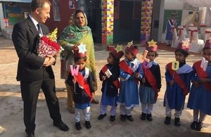 The British High Commissioner sees work supporting women and girls in Multan