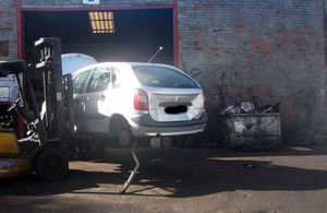 Grieveson was fined £7,260 for operating an illegal scrapyard