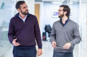 Dimitris Athanasiou and Guillem Singla Buxarrais of Neurofenix