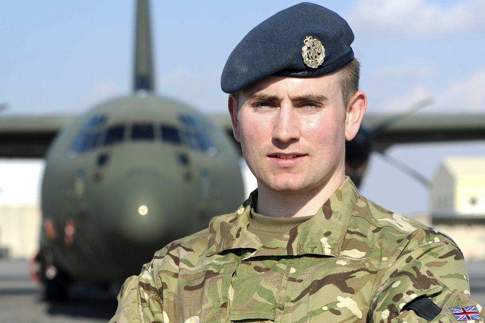 Senior Aircraftman Timothy Benson