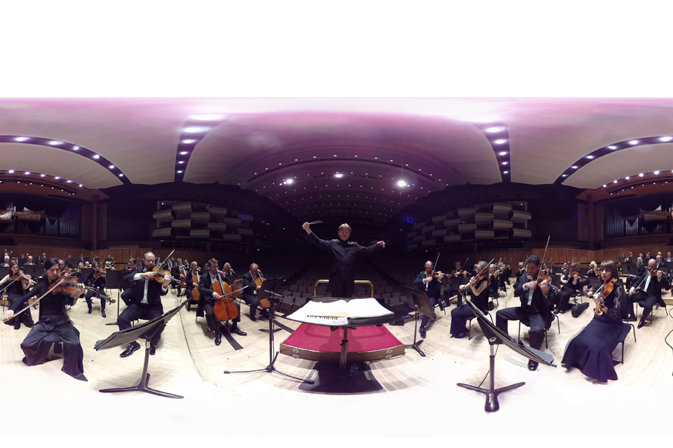 The Virtual Orchestra, produced by the Philharmonia Orchestra and presented in partnership with Southbank Centre