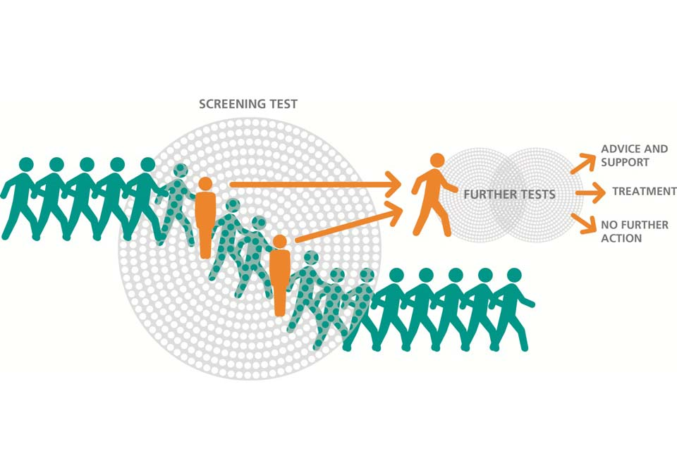 Screening sieve graphic