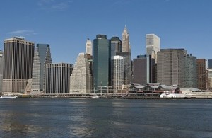 View of Manhattan.
