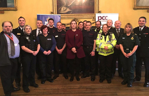Read Home Secretary praises first responders and emergency services article