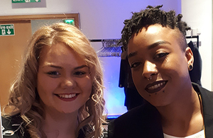 Apprentices at the Leeds 'class of 2018' graduation ceremony