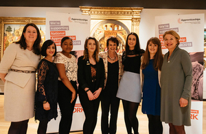 Apprenticeships work for women - speakers