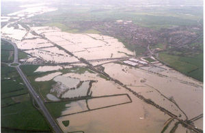 Northamptonshire Easter Floods 1998