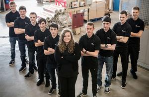New apprentices in 2016