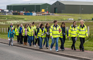 Dounreay work out at work 2016