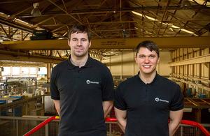 Dounreay apprentices