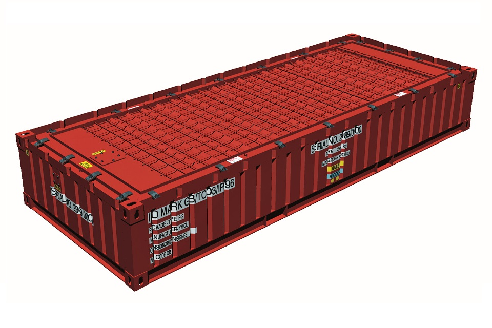 TC03 – Third Height IP-2 ISO Container
