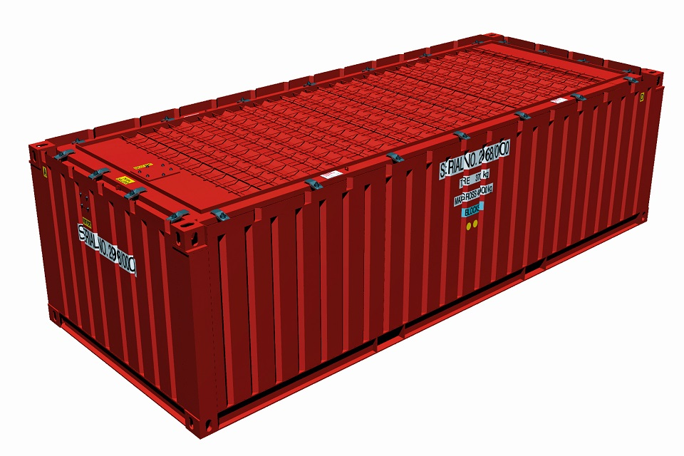 TC06 – Two Third Height ISO Container