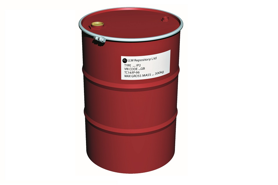 TC14 – 210 Litre IP-2 Drum Solids Liquids