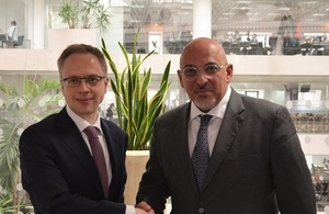 Nadhim Zahawi and Richard Watts