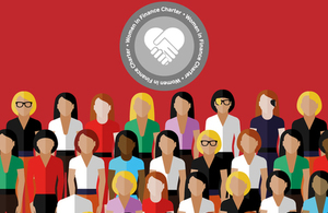 The Women in Finance Charter logo.