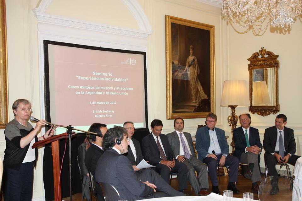 Firmas brit nicas participaron del seminario experiencias for Consul best practices