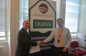 LLW Repository Ltd and partner GRAHAM Construction have signed their contract