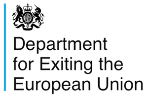 Department for Exiting the European Union logo