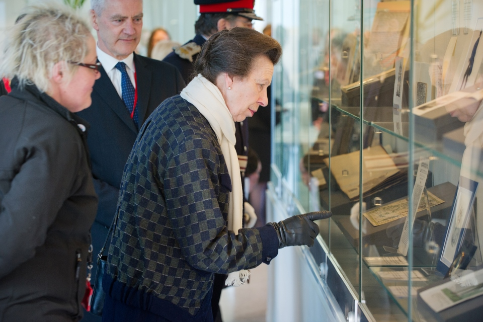 The Princess Royal toured the NDA's £21 million facility in Wick