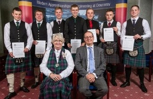 Lord Lieutenant salutes Dounreay on 60 years of apprentices