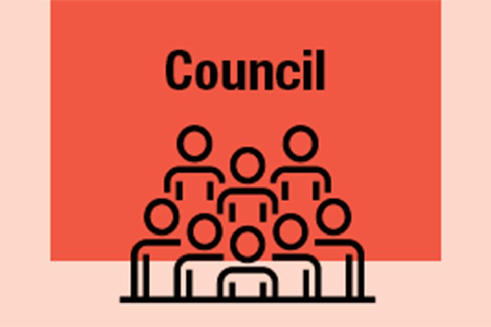 Council button