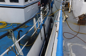 Access to Constant Friend via another fishing vessel