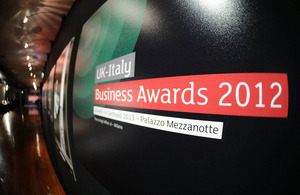 UK Italy Business Awards