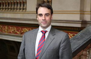 British Ambassador Ruairí O'Connell
