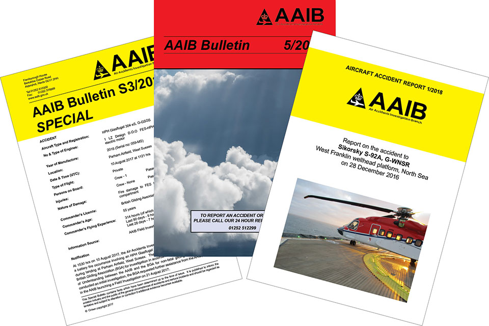 Picture of AAIB publications