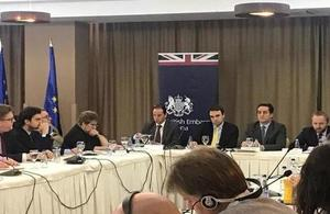 British Embassy in Kosovo supports the publication of annual report on war crimes