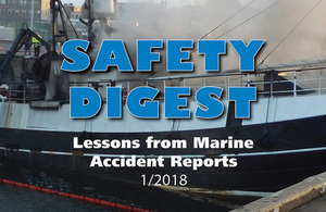 MAIB safety digest cover extract